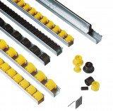Roller bearing guides