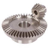Bevel gears, stainless steel, straight tooth system, ratio 1: 1 - 4: 1